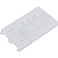 Cover Plate For Professional Grade Needle Plate, Janome