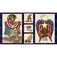 American Honor, Soldier Fabric Panel