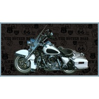 American Dream, Motorcycle Fabric Panel