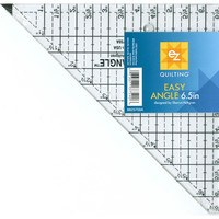 EZ Quilting, Easy Angle Ruler - 6-1/2""