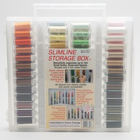 Sulky, Slimline Case with Embroiderer's Dream Thread Collection - 104 Spools