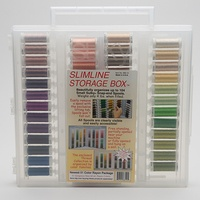 Sulky, Slimline Case with New Colors Thread Collection - 51 Spools