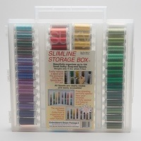 Sulky, Slimline Case with Embroiderer's Dream Thread Collection #2 - 104 Spools