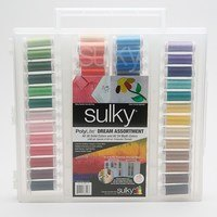 Sulky, Slimline Case with PolyLite Dream Thread Collection - 60 Spools