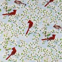 Birds of a Feather, Cardinals Fabric