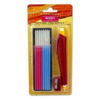 Mechanical Chalk Pencil and Refills (Multi Color), Bohin