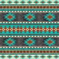 Home on the Range, Navajo Pattern Fabric
