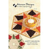 Happy Holidays Pattern, Atkinson Designs
