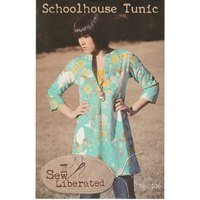 Schoolhouse Tunic Pattern, Sew Liberated