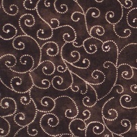 Moda Classic, Marble Swirls, Brown Fabric