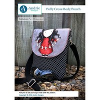 Polly Cross Body Pouch Pattern