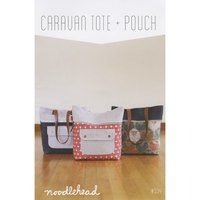 Caravan Tote and Pouch Pattern