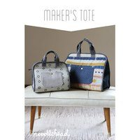 Maker's Tote Bag Pattern