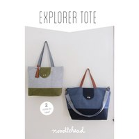 Explorer Tote Bag Pattern