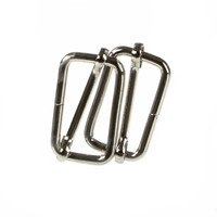 2pk Rectangle Buckle Slider