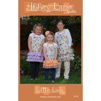 Little Lady Apron Pattern - Sizes 2-12
