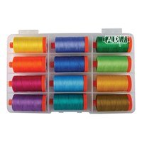 Aurifil, Ocean Odyssey, 12 Spool Thread Kit - 1422 yds (50wt)