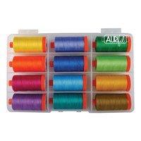 Aurifil, Ocean Odyssey, 12 Spool Thread Kit - 1422 yds (50wt)