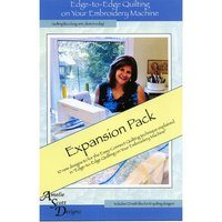 Edge-to-Edge Expansion Pack 1, Book and Embroidery CD