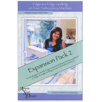 Edge-to-Edge Expansion Pack 2, Book and Embroidery CD