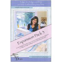 Edge-to-Edge Expansion Pack 3, Book and Embroidery CD