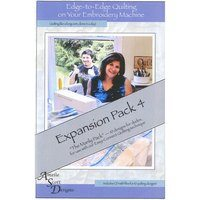 Edge-to-Edge Expansion Pack 4, Book and Embroidery CD