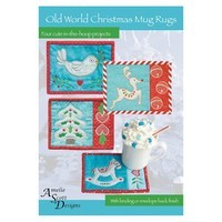 Old World Christmas Mug Rugs Pattern CD
