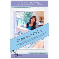 Edge-to-Edge Expansion Pack 6, Book and Embroidery CD
