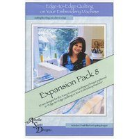 Edge-to-Edge Expansion Pack 8, Book and Embroidery CD