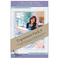 Edge-to-Edge Expansion Pack 9, Book and Embroidery CD