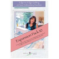 Edge-to-Edge Expansion Pack 10, Book and Embroidery CD