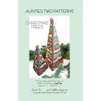 Christmas Trees, Aunties Two Patterns