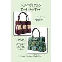 Bar Harbor Totes Pattern, Aunties Two Patterns