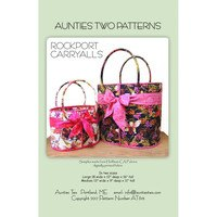 Rockport Carryalls Pattern, Aunties Two Patterns