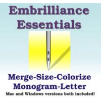 Embrilliance Essentials Embroidery Software