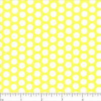 Lots of Dots Fabric - Yellow