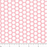 Lots of Dots Fabric - Pink