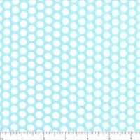 Lots of Dots Fabric - Aqua