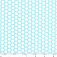 Lots of Dots Fabric - Aqua