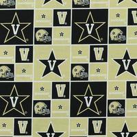 Vanderbilt, Collegiate Cotton Fabric, Logos