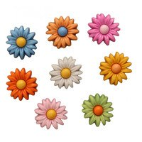 Daisy Delight Buttons - 10pk