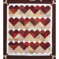 Blended Hearts Pattern, Black Cat Creations
