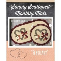 Simply Scalloped Mats, Thru the Year - February