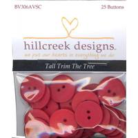 25 Piece Button Pack for Tall Trim the Tree Pattern