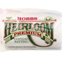 "Hobbs Heirloom Premium 80/20 Batting, 81""x 96"" Full"
