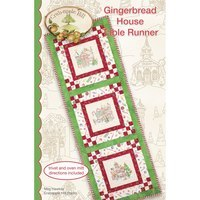 Gingerbread House Table Runner Pattern Crabapple Hill Studio
