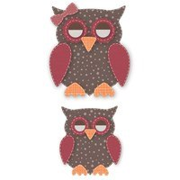 Crafter's Edge, Mama & Baby Owl 16 Piece Die Set