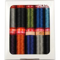 Aurifil, 10 Spool, Dark Mix Thread Collection