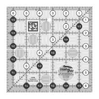 "Quilting Ruler 6-1/2"" Square, Creative Grids"