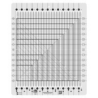 Stripology Squared Quilt Ruler, Creative Grids